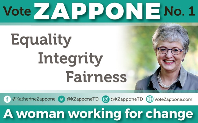 VOTE KATHERINE ZAPPONE 1