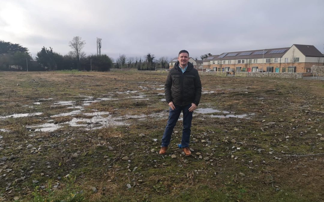 Disappointment that Clondalkin football pitch has not been delivered