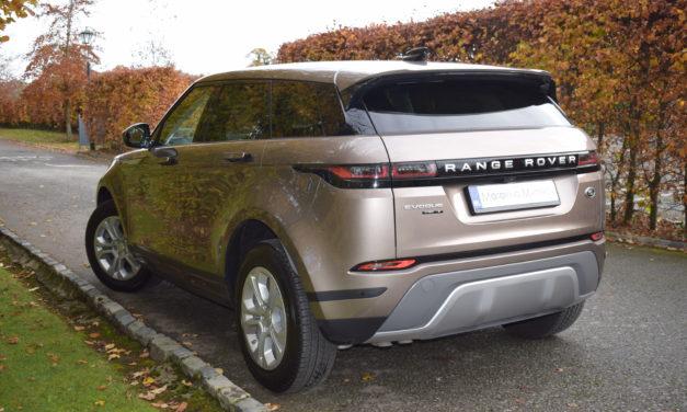 New Range Rover Evoque – Above & Beyond.