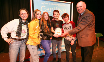 Talented teenagers from Lucan win All-Ireland awards!