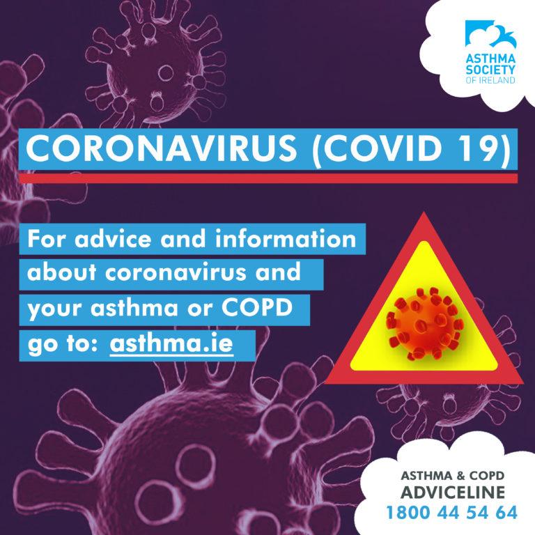 Asthma Society Ireland Covid19