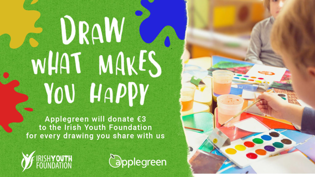 Applegreen Draw What Makes You Happy