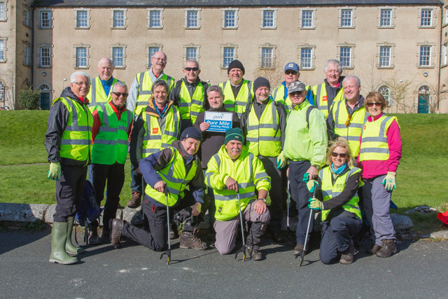 Glencree Walking Group PURE Cleanup