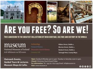 National Museum of Ireland NewsGroup ad
