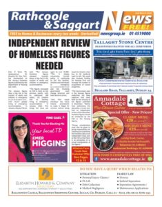 Rathcoo,e & Saggart News 02 Feb 20