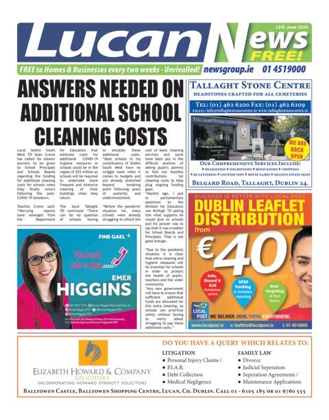 Lucan News 12.06.20