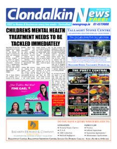 Clondalkin News 31.08.20