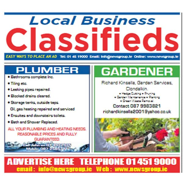 Local business classified ads