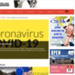 NewsGroup website banner ads