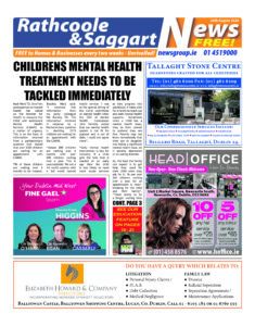 Rathcoole Saggart News 31.08.20