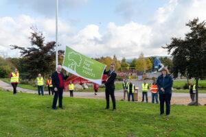 Green Flag Award at Sean Walsh Park