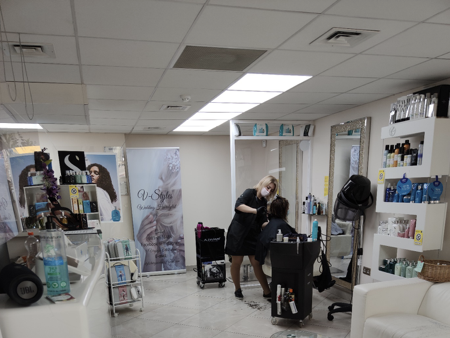 Salon Lucan V Styles at Be Unique Beauty Salon Academy