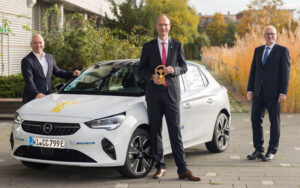 Goldenes Lenkrad Opel Corsa