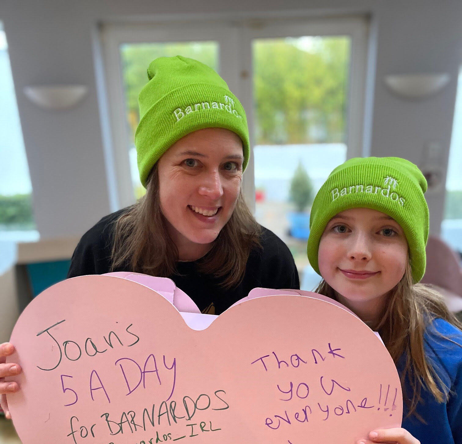 Barnardos Celebrate Joans 5 a Day