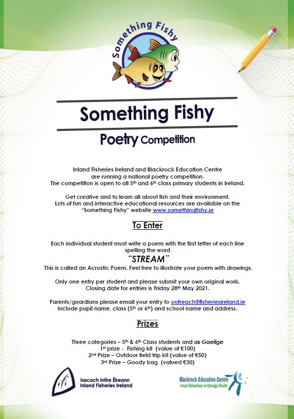 Something Fishy Poetry Competition Poster