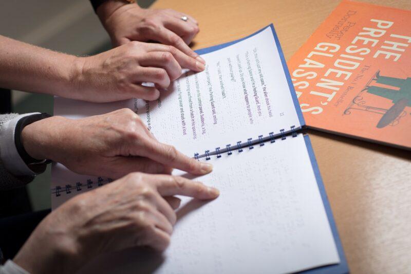 Braille NCBI World Book Day