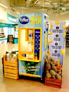 Fyffes Pineapple Machine 2021
