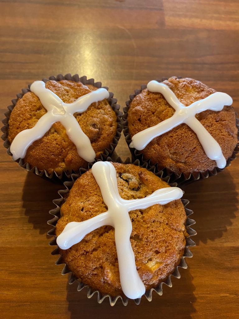 hot cross buns newsgroup recipes