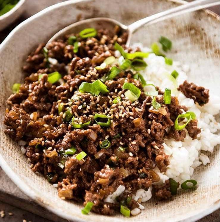 Asian Beef Bowl Newsgroup Recipes