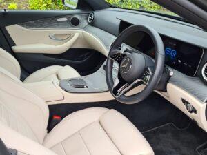 EClass 300de interior Newsgroup Motoring