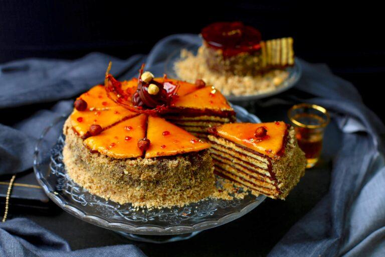 Roisin Gallagher Banana and Caramel Layer Cake