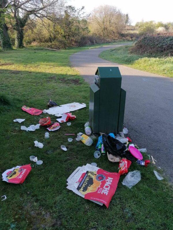SDCC rubbish bins