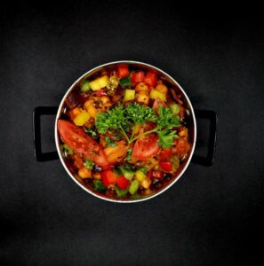 chickpea and pepper stew
