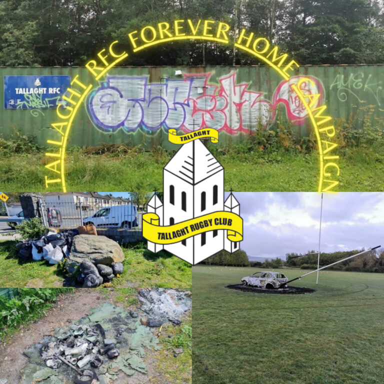 tallaght rfc forever home fundraiser