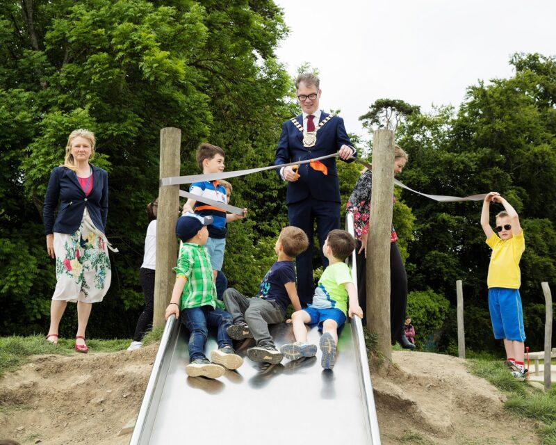 Official Opening of the playground at Willsbrook Park in Lucan
