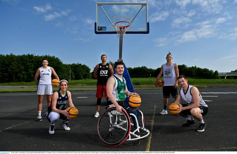 Basketball Ireland's '3x3 Roadshow' Launch