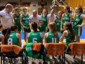 Andy Gill head coach U16 womens team