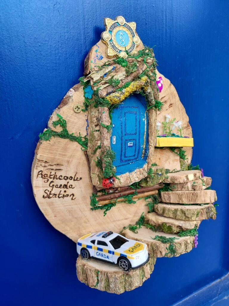 Fairy Door Rathcoole Garda Station