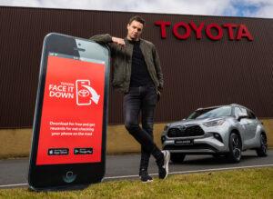 Niall Breslin Toyota Face Down App