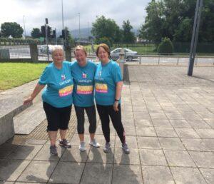 Tallaght Ladies LauraLynn 2000 squats challenge