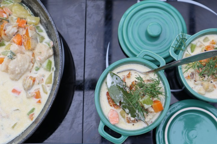 seafood chowder newsgroup recipes