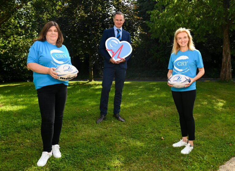 Leinster Rugby, CRY and BearingPoint Announcement