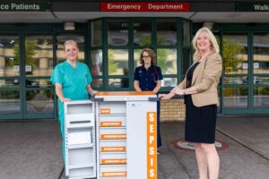 TUH Rollout Sepsis Trolleys