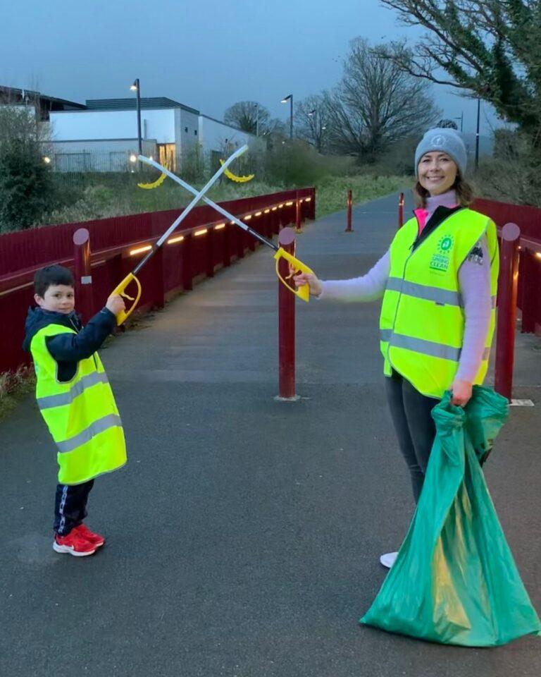 Tara and Oisin from Tallaght Community Council